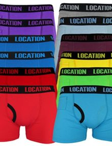 d0c532ea7bb1 Quick View. Trunks 12 Pack Mens Location Boxer Shorts Trunks Gift Underwear  Novelty Cotton ...