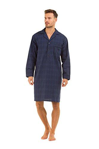 Mens Haigman Nightwear Poplin 100/% Cotton Dressing Gown
