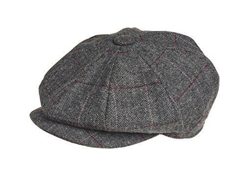 Peaky Blinders 8 Piece  Newsboy  Style Flat Cap -100% Wool Fabric  Variations – Menswear Warehouse b156e98d3e3