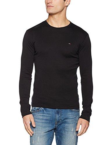 4da6e6cc Tommy Jeans Men's Original Rib Long Sleeve T-Shirt – Menswear Warehouse