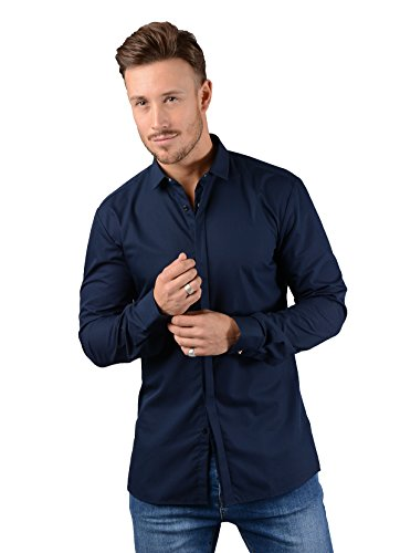 Hugo boss shirt mens ebros extra slim fit long sleeved for Hugo boss dress shirt review