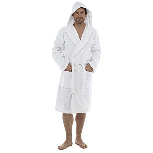 Men Towelling Robe 100% Cotton Terry Towel Shawl Collar Bathrobe Dressing  Gown Bath Robe Perfect for Gym Shower Spa Hotel Holiday – Menswear Warehouse 6de46399c
