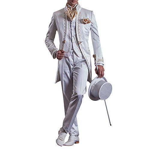 Judi Dench@ Men's Suit Tuxedos Slim Fit Suits 3-Piece Suit ...