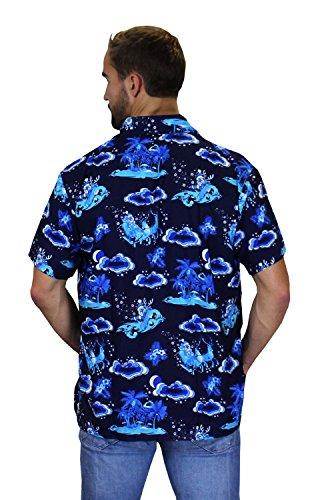 cad5e383 King Kameha Original Funky Hawaiian Shirt | Men | XS – 6XL | Short Sleeve |  Hawaii Print | Christmas X-Mas Santas | Various Designs