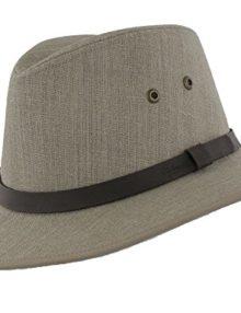 1d1cf923 Quick View. Hats and Caps Failsworth Men's Irish Linen Safari Fedora ...