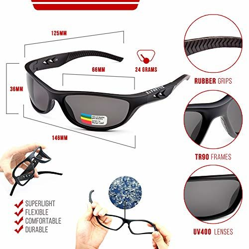 SPORTS SUNGLASSES DESIGNER LARGE WRAP RUNNING CYCLING SKIING UV400 MENS LADIES