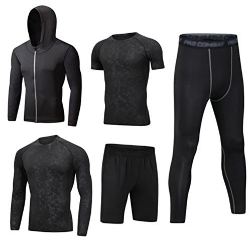 Men Gym Running Sports Compression Wear Base Layer Tank Tops Vest Under Shirt