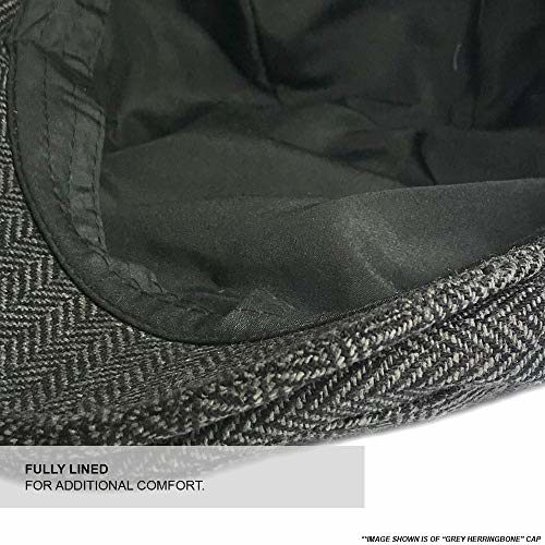 Men's Clothing Accessories TOSKATOK Mens Tweed Flat Caps