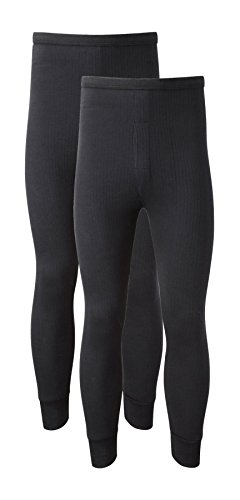 Mens Thermal Trousers Long Johns Warm Underwear Baselayer M L XL Thermals UK